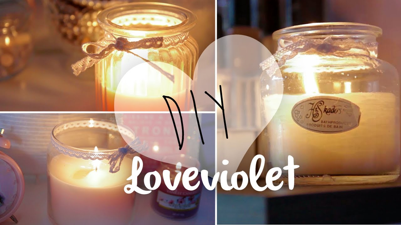 Favorito DIY: Candele in barattolo in stile ❀ Yankee Candle  ZR94