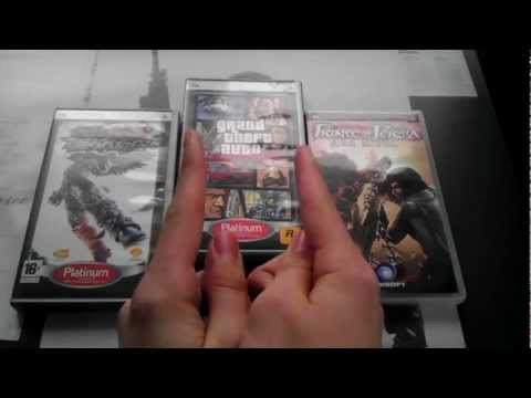 Моя коллекция игр для PSP / My collection of games for PSP