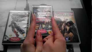 Моя коллекция игр для PSP / My collection of games for PSP