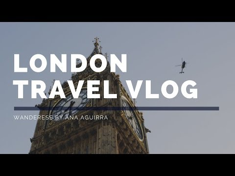 LONDON TRAVEL VLOG (Legendas em Português) | Agora Virei Gringa