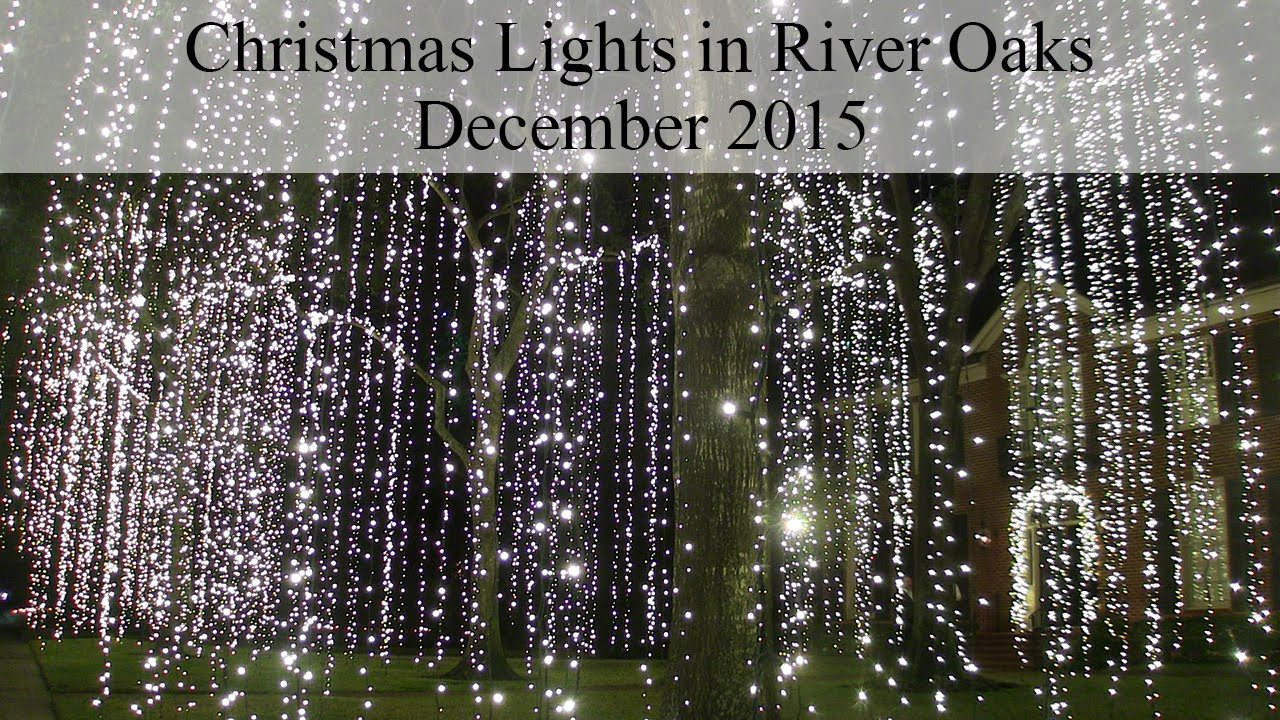 River Oaks Christmas Lights