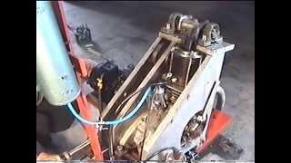 tłokowy silnik spalinowy z wędrującą komorą spalania 1
