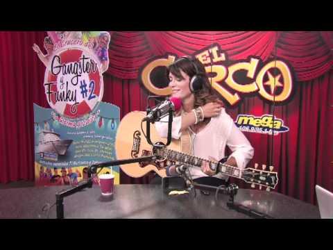 Kany Garcia en El Circo de La Mega