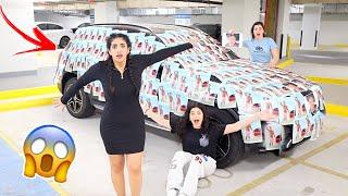 خربت سيارتها بصور حبيبها السعودي بالتيك توك | عصبت كثير 😡😂