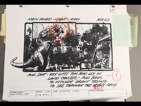 UNBOXING! Phil Tippett Auction - Jurassic Park Early Sequence Printed Storyboard Binder
