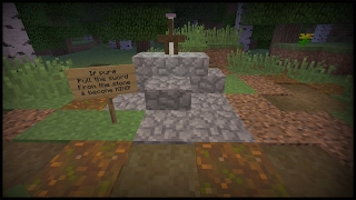 How to Make a Working Sword in the Stone in Minecraft