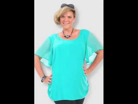 Casual Plus Size Clothing Tops for Women 1x-5x for 2013 - YouTube