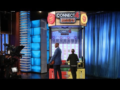 Kobe Bryant and Ellen Face Off in Basketball Connect 4