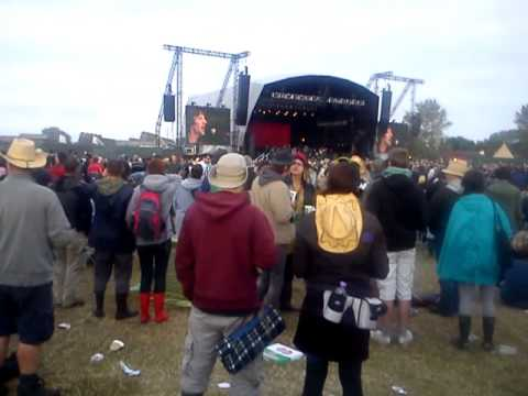 The drugs don't work. Richard Ashcroft. Hop farm music festival