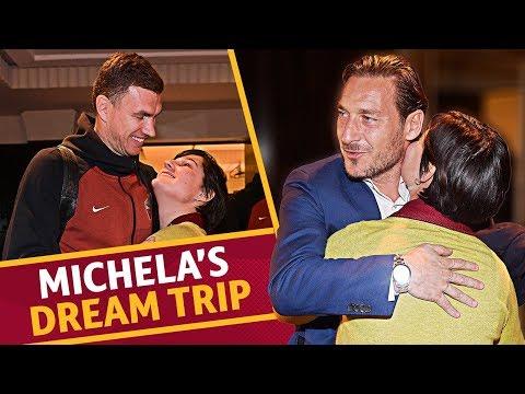 Il viaggio di Michela con l'AS Roma e la sorpresa di Totti Mp3