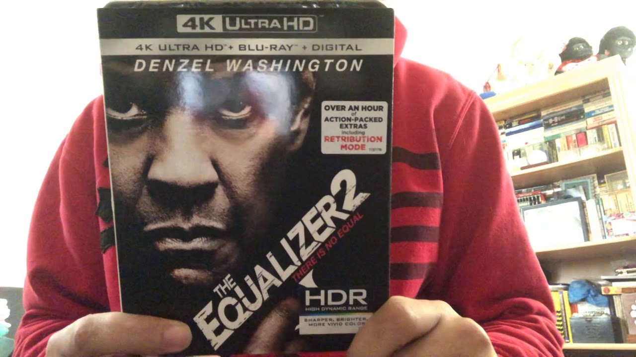 The Equalizer 2 4k Ultra Hd Blu Ray Unboxing Youtube