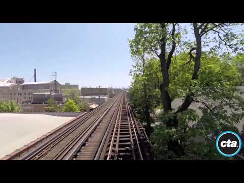 CTA Ride the Rails: Blue Line to Forest Park in Real Time