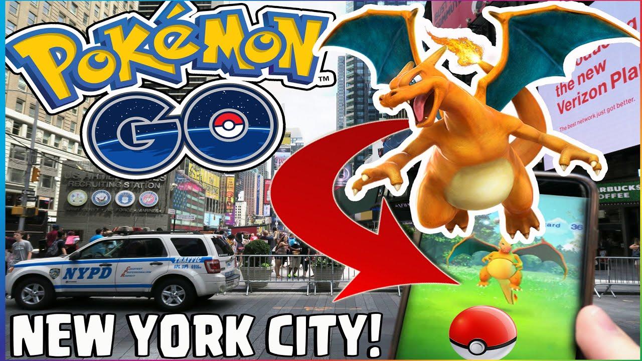 Pokmon Go NEW YORK CITY LEGENDARYRARE Pokemon Times