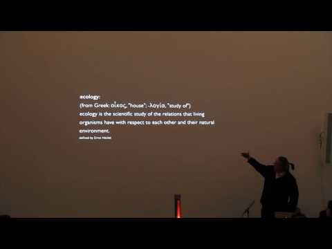Peter Trummer - Week 3- Staedelschule Architecture Class (SAC) Lecture Series -December, 2016