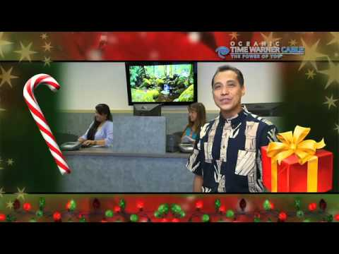 Hilo Oceanic Time Warner Cable Christmas Commercial 2010