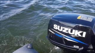 обкатка Aquilon СВ 340 и Suzuki 9.9