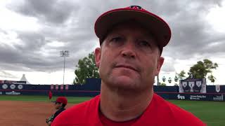Watch: Arizona coach Jay Johnson discusses Wildcats' season-opening series sweep over Bryant