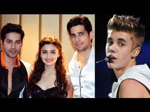Alia, Sidharth, Varun to perform at Justin Biebers India concert