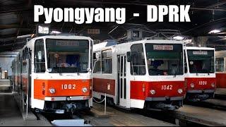 PYONGYANG TRAM - Die Straßenbahn in Pyongyang (19.-25.04.2014)