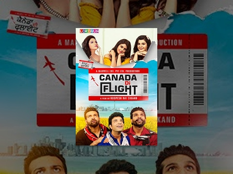 Canada di flight full Punjabi movie