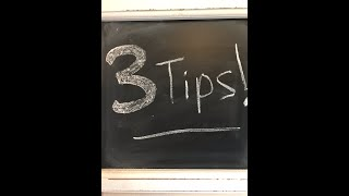 3 TIPS on Productivity Accountability - Two Minute Tip to bENCOURAGEd!