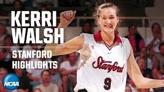 Kerri Walsh: NCAA volleyball highlights at Stanford