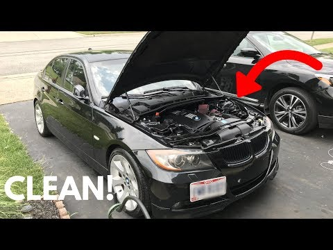 how-to-clean/detail-your-bmw-engine-bay!-diy!