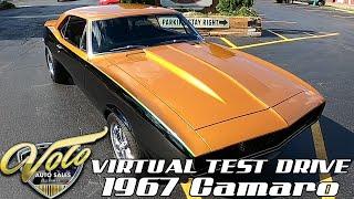 1967 Chevrolet Camaro Virtual Test Drive at Volo Auto Museum (V19069)