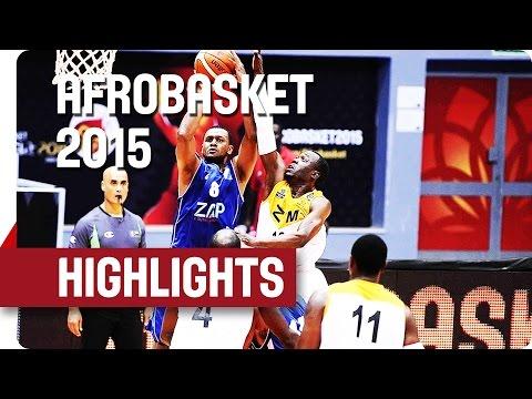 Zimbabwe v Cape Verde - Game Highlights - Group D - AfroBasket 2015