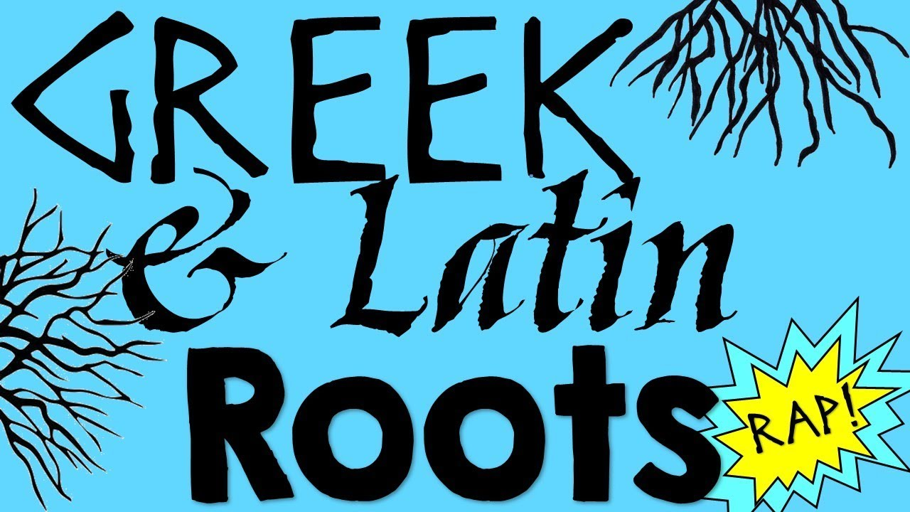 Greek and Latin Roots Rap   Reading Music Video - YouTube [ 720 x 1280 Pixel ]