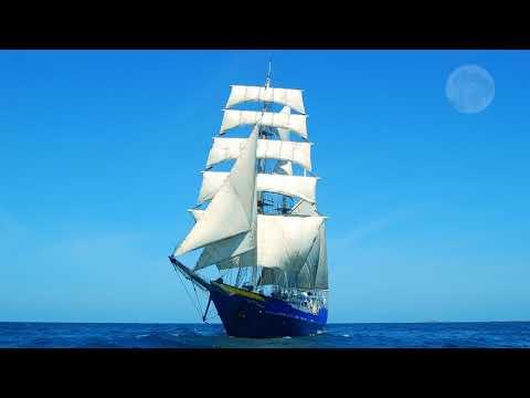 Картинка корабль. Океан, корабль, парусный.
