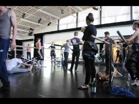 NYC Ballet in Company Class - Jackson Hole, Wyo