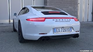 Porsche 991 Carrera 4 GTS with Porsche Sport Exhaust - Start Up & Revs
