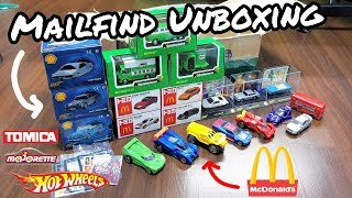 FANMAIL UNBOXING - McDonald's Tomicas, Vintage Majorettes AND MORE!