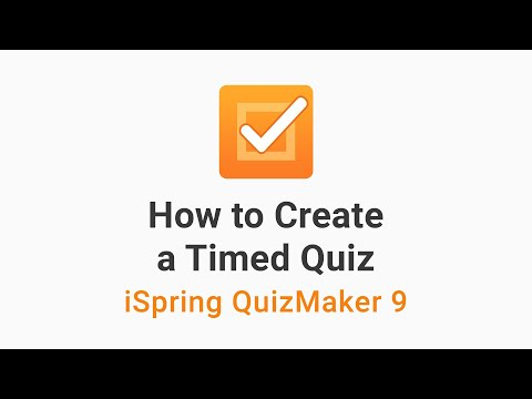 How to Create a Timed Quiz