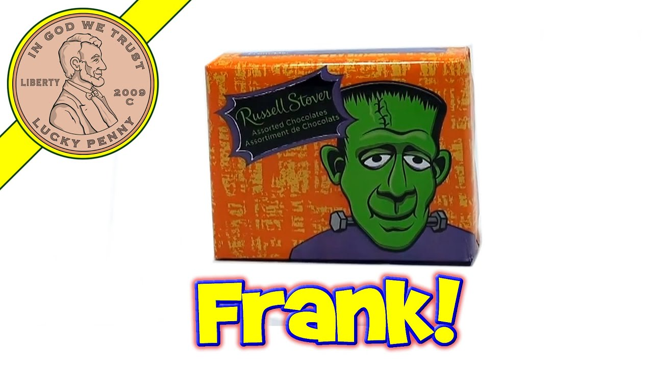 russell stover frankenstein assorted chocolate gift box - halloween