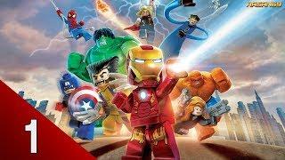 LEGO Marvel Super Heroes (PC) walkthrough part 1 (Sand Central Station)