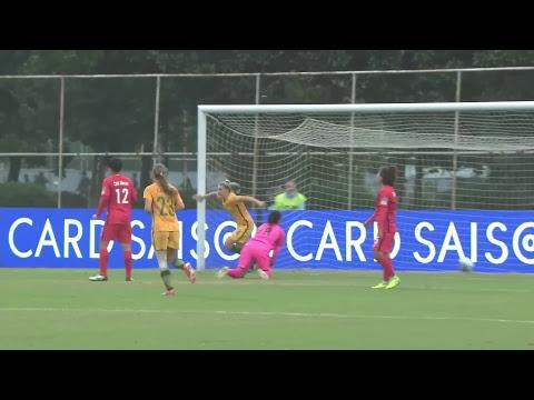 Korea Republic vs Australia  (AFC U-19 Women's Championship)
