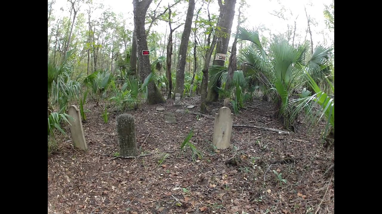 Old Griggs Cemetery in Ocala National Forest - YouTube