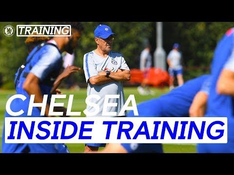 Sarri's First Week At Chelsea & More | Inside Training