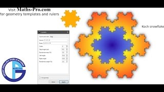 Fractal geometry using Inkscape