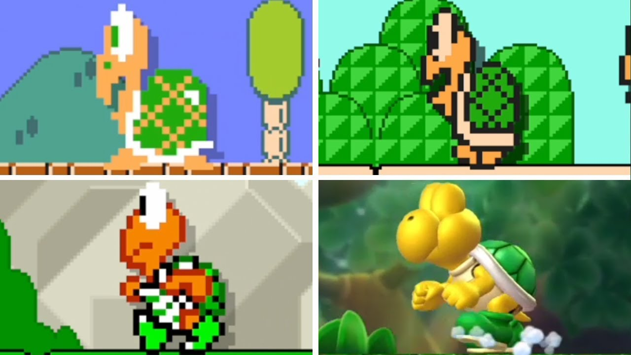 Super Mario Bros Koopa