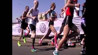 Eva Vrabcová - momentky z Pražského maratónu 2016 (výkon 2:30:10)