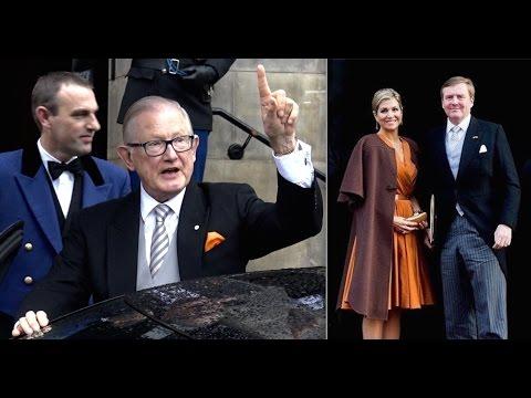 Koningspaar Nieuwjaarsontvangst 2016 corps diplomatique.