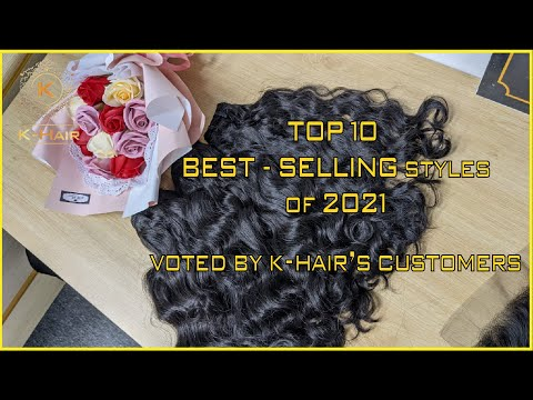 Top 10 BEST - SELLING styles of 2021 - You will be ADDICTED | K-HAIR VIETNAM