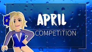 Roblox Gymnastics: April Competition 12:00pm