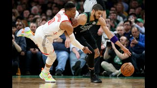 Rockets Vs. Celtics 4th Qtr & OT Late Game Highlights