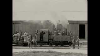 WWI Footage: Narrow Gauge Train Lines in France - Historic Trains & Railways - CharlieDeanArchives