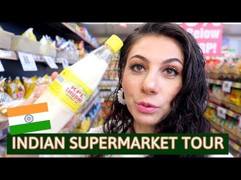 INDIAN SUPERMARKET FOOD | TRAVEL VLOG IV