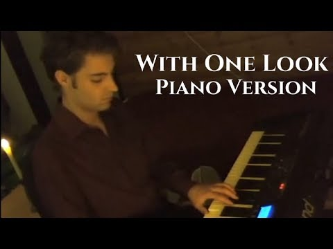 With One Look (Sunset Boulevard) - Piano Version by Gijs Van Winkelhof